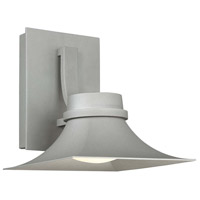 Modern Forms WS-W62610-GH Pasadena LED 10 inch Graphite Outdoor Wall Light in 10in.