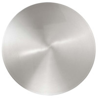 Modern Forms WS-W60616-AL Circle LED 16 inch Brushed Aluminum Outdoor Wall Light in 16in.