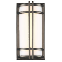 Modern Forms WS-W68612-27-BZ Skyscraper 1 Light 12 inch Bronze Outdoor Wall Light