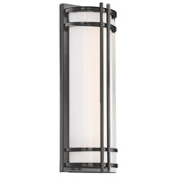 Modern Forms WS-W68618-27-BZ Skyscraper 1 Light 18 inch Bronze Outdoor Wall Light