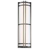 Skyscraper LED 27 inch Bronze Outdoor Wall Light in 27in.