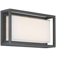Modern Forms WS-W73614-BZ Framed LED 8 inch Bronze Outdoor Wall Light in 14in.