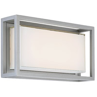 Modern Forms WS-W73614-GH Framed LED 8 inch Graphite Outdoor Wall Light in 14in.