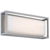 Modern Forms WS-W73620-GH Framed LED 10 inch Graphite Outdoor Wall Light in 20in.