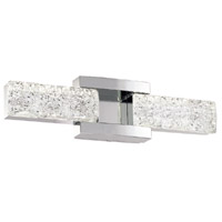 Sofia LED 19 inch Polished Nickel Vanity Light Wall Light in 19in.
