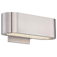 Modern Forms WS-39610-BN Nia LED 10 inch Brushed Nickel ADA Wall Sconce Wall Light