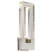 Chill LED 6 inch Polished Nickel ADA Wall Sconce Wall Light