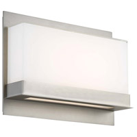 Lumnos LED 16 inch Satin Nickel ADA Wall Sconce Wall Light