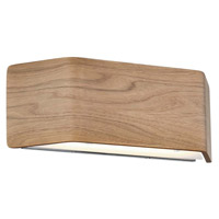 Modern Forms WS-97614-WAL-EM Asgard 1 Light 2 inch Walnut ADA Wall Sconce Wall Light  photo thumbnail