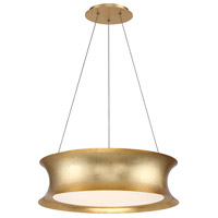 Modern Forms PD-34620-GL Tango LED 20 inch Gold Leaf Chandelier Ceiling Light