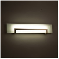 Modern Forms WS-70526-SN Margin LED 26 inch Satin Nickel Bath Light Wall Light in 26in. alternative photo thumbnail