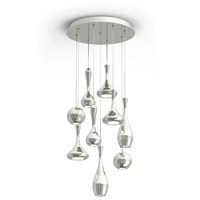 Modern Forms PD-ACID09R-PN Acid LED 17 inch Polished Nickel Chandelier Ceiling Light in 17in., 6030
