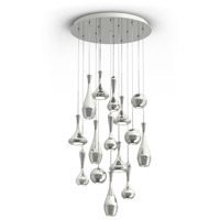 Acid LED 23 inch Polished Nickel Chandelier Ceiling Light in 23in., 9519