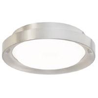 Modern Forms FM-75710-BN Luma LED 10 inch Brushed Nickel Flush Mount Ceiling Light in 10in.