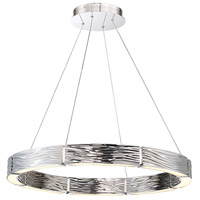 Modern Forms PD-56729-PN Zelda LED 29 inch Polished Nickel Chandelier Ceiling Light in 29in.
