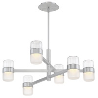 Jazz LED 28 inch Brushed Aluminum Chandelier Ceiling Light