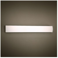 modern forms ws24727al spectre led 27 inch brushed aluminum vanity light wall - Modern Forms Lighting