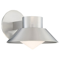 Oslo LED 7 inch Brushed Aluminum Outdoor Wall Sconce