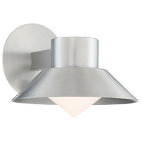 Oslo LED 8 inch Brushed Aluminum Outdoor Wall Sconce
