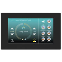 Modern Forms F-TS-BK Signature Black Fan Wall Control, Wifi Touch Panel