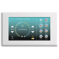 Modern Forms F-TS-WT Signature White Fan Wall Control, Wifi Touch Panel