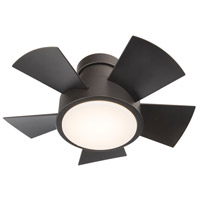 Vox 26 inch Bronze Indoor Outdoor Smart Ceiling Fan, Flush Mounted