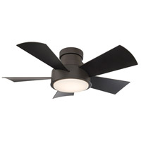 Vox 38 inch Bronze Indoor Outdoor Smart Ceiling Fan, Flush Mounted