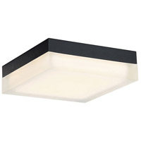 Matrix LED 9 inch Black Flush Mount Ceiling Light