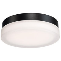 Circa LED 9 inch Black Flush Mount Ceiling Light