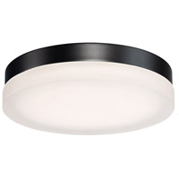 Circa LED 11 inch Black Flush Mount Ceiling Light