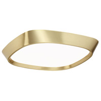 Modern Forms FM-73710-BR Issa LED 10 inch Brushed Brass Flush Mount Ceiling Light in 10in.