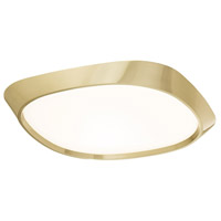 Modern Forms FM-73714-BR Issa LED 14 inch Brushed Brass Flush Mount Ceiling Light in 14in.