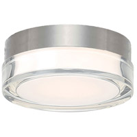 Pi LED 6 inch Stainless Steel Outdoor Flush Mount in 6in.