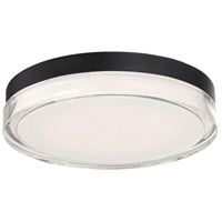 Modern Forms FM-W44812-30-BK Pi 1 Light 12 inch Black Outdoor Flush Mount