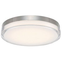 Pi LED 15 inch Stainless Steel Outdoor Flush Mount