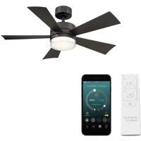 Modern Forms FR-W1801-42L-BZ Wynd 42 inch Bronze Indoor Outdoor Smart Ceiling Fan