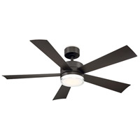 Wynd 52 inch Bronze Indoor Outdoor Smart Ceiling Fan