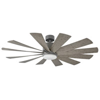 Modern Forms FR-W1815-60L-GH/WG Windflower 60 inch Graphite Ceiling Fan