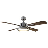 Modern Forms FR-W1818-56L35GHWG Nautilus 56 inch Graphite Weathered Gray Downrod Ceiling Fans in 3500K