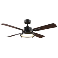 Modern Forms FR-W1818-56L27OBDW Nautilus 56 inch Oil Rubbed Bronze Indoor Outdoor Smart Ceiling Fan