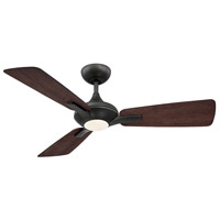 Modern Forms FR-W1819-52L27BZDW Mykonos 52 inch Bronze Dark Walnut Downrod Ceiling Fan in 2700K