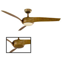 Modern Forms FR-W1916-56L-27-KO Nirvana 56 inch Koa Indoor Outdoor Smart Ceiling Fan alternative photo thumbnail