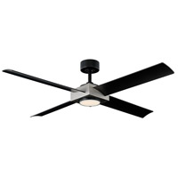Modern Forms FR-W1922-56L-AV/MB Paradox 56 inch Antique Silver Indoor Outdoor Smart Ceiling Fan