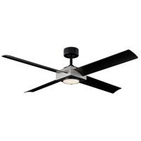 Modern Forms FR-W1922-56L-AV/MB Paradox 56 inch Antique Silver Indoor Outdoor Smart Ceiling Fan