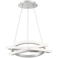 Modern Forms PD-24826-TT Veloce LED 26 inch Titanium Chandelier Ceiling Light