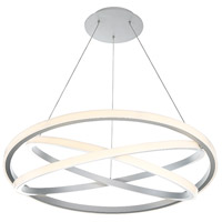 Veloce LED 38 inch Titanium Chandelier Ceiling Light