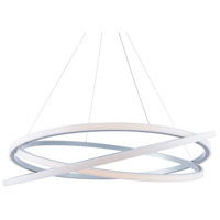Modern Forms PD-24848-TT Veloce LED 48 inch Titanium Chandelier Ceiling Light