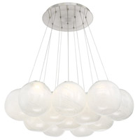 Cosmic LED 36 inch Brushed Nickel Multi-Light Pendant Ceiling Light