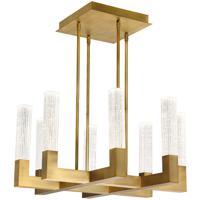 Modern Forms PD-30826-AB Cinema LED 26 inch Aged Brass Multi-Light Pendant Ceiling Light
