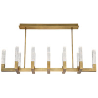 Modern Forms PD-30854-AB Cinema LED 54 inch Aged Brass Multi-Light Pendant Ceiling Light